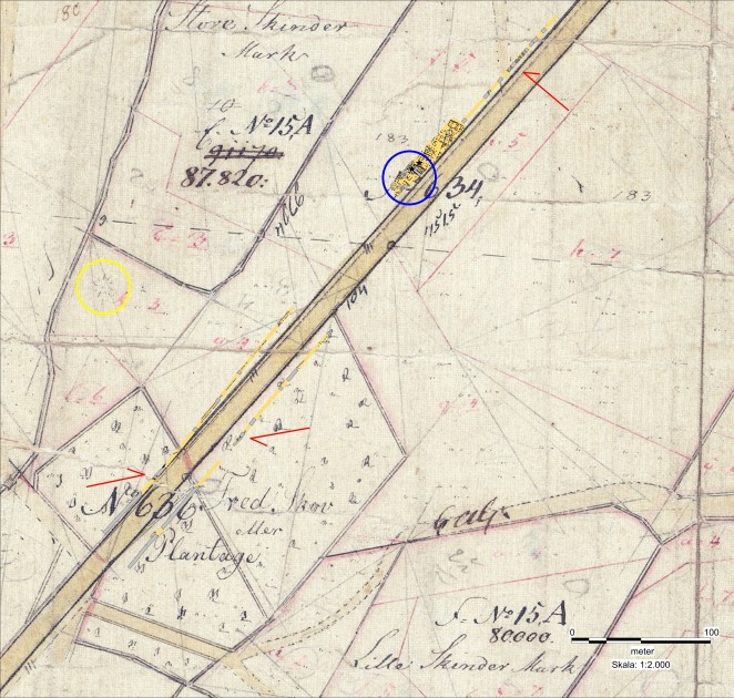 Oversigtskort på 1839 O1